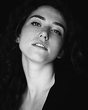 Anna Haholkina model (modella). Photoshoot of model Anna Haholkina demonstrating Face Modeling.Face Modeling Photo #221056
