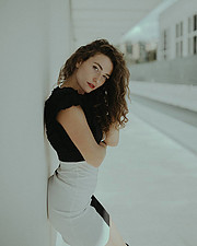 Anna Haholkina model (modella). Photoshoot of model Anna Haholkina demonstrating Fashion Modeling.Fashion Modeling Photo #221078