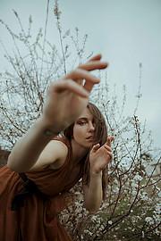 Anna Haholkina model (modella). Photoshoot of model Anna Haholkina demonstrating Fashion Modeling.Greta LarosaFashion Modeling Photo #221116