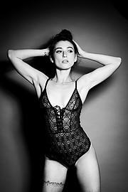 Anna Haholkina model (modella). Photoshoot of model Anna Haholkina demonstrating Body Modeling.Luca PozzaglioBody Modeling Photo #221117