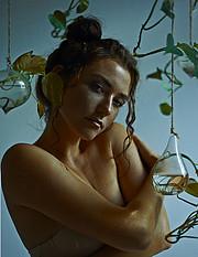 Anna Haholkina model (modella). Photoshoot of model Anna Haholkina demonstrating Face Modeling.Face Modeling Photo #221122