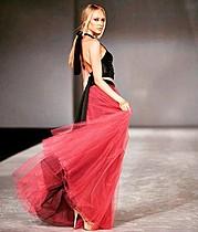 Anna Kin model. Photoshoot of model Anna Kin demonstrating Runway Modeling.Runway Modeling Photo #185634