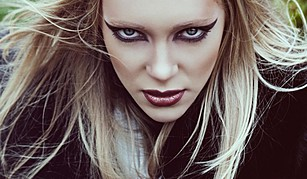 Anna Kin model. Photoshoot of model Anna Kin demonstrating Face Modeling.Face Modeling Photo #54511
