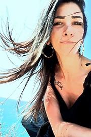 Anna Koupriza model (μοντέλο). Photoshoot of model Anna Koupriza demonstrating Face Modeling.Face Modeling Photo #224484