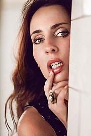 Anna Shteyn model (модель). Photoshoot of model Anna Shteyn demonstrating Face Modeling.Face Modeling Photo #69065