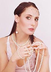 Anna Shteyn model (модель). Photoshoot of model Anna Shteyn demonstrating Face Modeling.Face Modeling Photo #69067