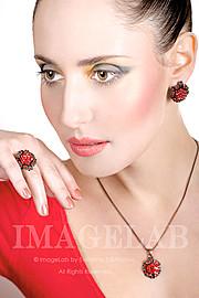 Anna Shteyn model (модель). Photoshoot of model Anna Shteyn demonstrating Face Modeling.Face Modeling Photo #69070