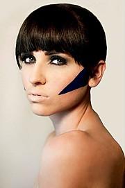 Anna Vega model. Photoshoot of model Anna Vega demonstrating Face Modeling.Face Modeling Photo #102754