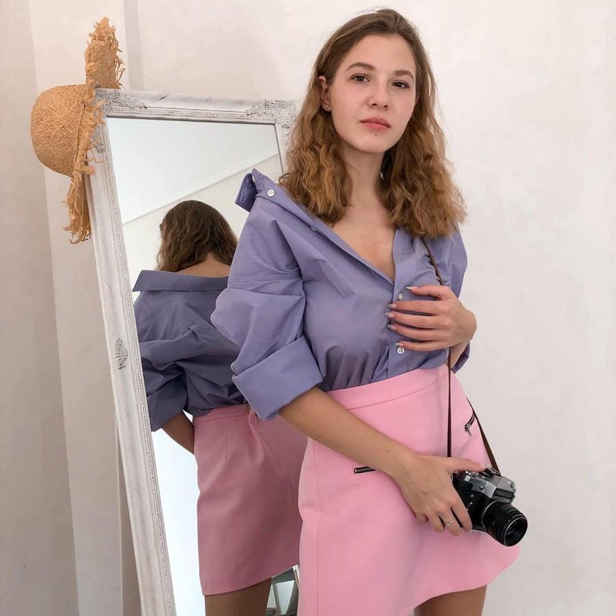 Anna Zubko model (Άννα Ζουμπκό μοντέλο). Photoshoot of model Anna Zubko demonstrating Fashion Modeling.Fashion Modeling Photo #225203