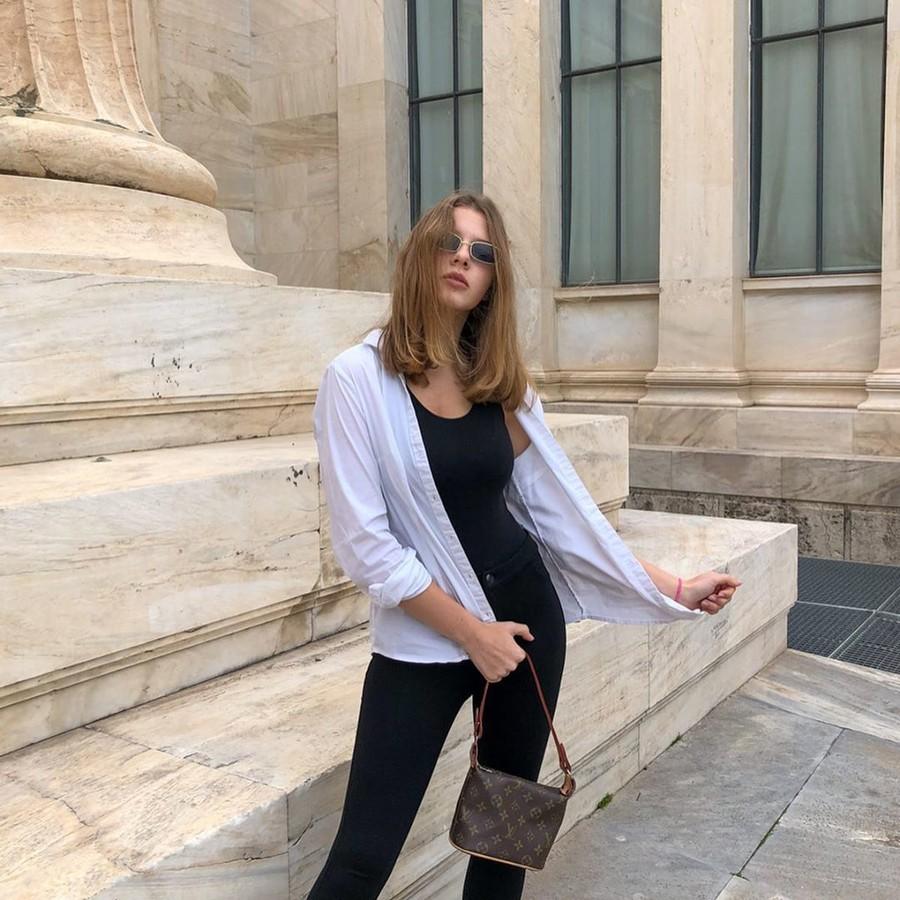 Anna Zubko model (Άννα Ζουμπκό μοντέλο). Photoshoot of model Anna Zubko demonstrating Fashion Modeling.Fashion Modeling Photo #225204