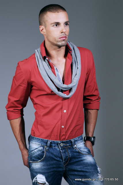 Antonis Fostieris model (μοντέλο). Photoshoot of model Antonis Fostieris demonstrating Fashion Modeling.Fashion Modeling Photo #115364