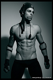 Antonis Fostieris model (μοντέλο). Photoshoot of model Antonis Fostieris demonstrating Body Modeling.Agency Guinda AthensBody Modeling Photo #115369