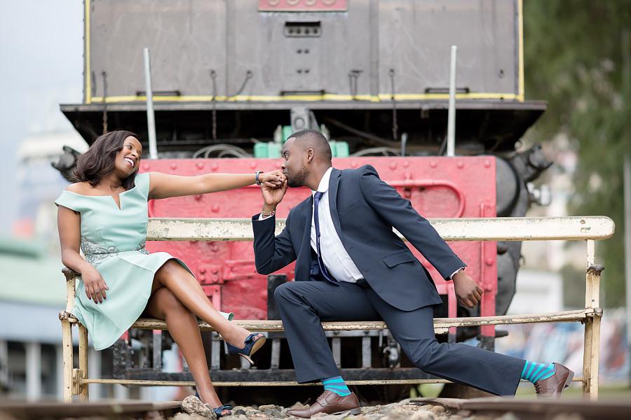 Antony Trivet fashion portraiture wedding. Work by photographer Antony Trivet demonstrating Wedding Photography.photographer: Antony TrivetLocation : Nairobi Railway MuseumWedding Photography Photo #198130