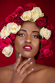 Antony Trivet fashion portraiture wedding. Work by photographer Antony Trivet demonstrating Portrait Photography in a photo-session with the model Faith Ngendo Tellen.Model : Faith Ngendo TellenFashion Stylists : Dorothy G MbaabuMakeup Artist : Dau