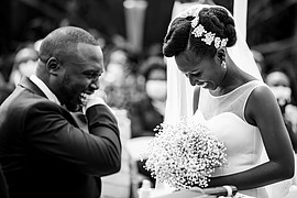 Antony Trivet fashion portraiture wedding. Work by photographer Antony Trivet demonstrating Wedding Photography in a photo-session with the model Kenyan Bride & Groom.Makeup Artist : Bayaas TouchModel : Kenyan Bride & GroomFashion Stylists : Ellen