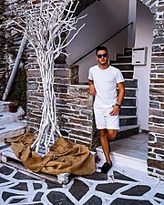 Antreas Nimas model (μοντέλο). Photoshoot of model Antreas Nimas demonstrating Editorial Modeling.Editorial Modeling Photo #185895