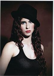 Antriana Kara model (μοντέλο). Photoshoot of model Antriana Kara demonstrating Face Modeling.Face Modeling Photo #212621