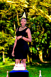 My name is Aphline Akinyi a student at University of Eldoret.Am trying modelling for the first time and I hope to turn it into something so