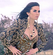 April Vaughan model. Photoshoot of model April Vaughan demonstrating Fashion Modeling.Fashion Modeling Photo #91731