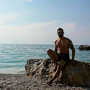 Ares Mitsopoulos model (Άρης Μητσόπουλος μοντέλο). Photoshoot of model Ares Mitsopoulos demonstrating Body Modeling.Body Modeling Photo #218124