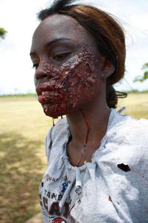 Ari Kaainoa makeup artist. Work by makeup artist Ari Kaainoa demonstrating Special Fx Makeup.Horror Film SFXSpecial Fx Makeup Photo #120097