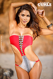 Arianny Celeste model. Photoshoot of model Arianny Celeste demonstrating Body Modeling.Body Modeling Photo #160250