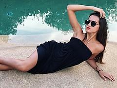 Arjanisa Kurti model (modèle). Photoshoot of model Arjanisa Kurti demonstrating Fashion Modeling.Fashion Modeling Photo #195675