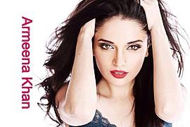 Armeena Rana Khan model & actress. Photoshoot of model Armeena Rana Khan demonstrating Face Modeling.Photography and Makeup by Rizwan Baig and Munazza at DeveesFace Modeling Photo #122910