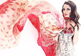 Armeena Rana Khan model & actress. Photoshoot of model Armeena Rana Khan demonstrating Fashion Modeling.Fashion Modeling Photo #122917
