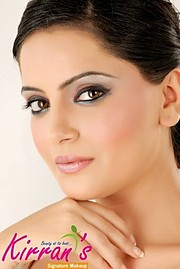 Armeena Rana Khan model & actress. Photoshoot of model Armeena Rana Khan demonstrating Face Modeling.Face Modeling Photo #122937