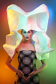 Arnaud Prevost hair stylist (coiffeur). Work by hair stylist Arnaud Prevost demonstrating Creative Hair Styling.Creative Hair Styling Photo #73428