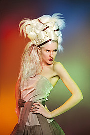 Arnaud Prevost hair stylist (coiffeur). Work by hair stylist Arnaud Prevost demonstrating Creative Hair Styling.Creative Hair Styling Photo #73430