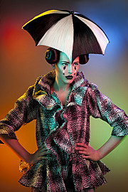 Arnaud Prevost hair stylist (coiffeur). Work by hair stylist Arnaud Prevost demonstrating Creative Hair Styling.Creative Hair Styling Photo #73431