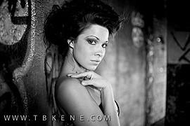 Ashley Rene Miller model. Photoshoot of model Ashley Rene Miller demonstrating Face Modeling.Face Modeling Photo #109044