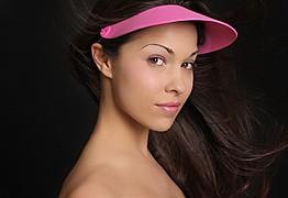 Ashley Rene Miller model. Photoshoot of model Ashley Rene Miller demonstrating Face Modeling.Face Modeling Photo #109049