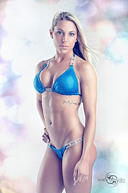 Ashley Sarina Hoffmann is a fitness model based in Milwaukee, Wisconsin. She is a personal trainer and also a sponsored athlete for Cellucor