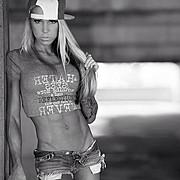 Ashley Sarina Hoffmann fitness model. Photoshoot of model Ashley Sarina Hoffmann demonstrating Fashion Modeling.Fashion Modeling Photo #104683