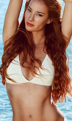 Athina Palidi model (μοντέλο). Photoshoot of model Athina Palidi demonstrating Face Modeling.Face Modeling Photo #154074