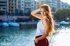 Athina Palidi model (μοντέλο). Photoshoot of model Athina Palidi demonstrating Fashion Modeling.Fashion Modeling Photo #175038