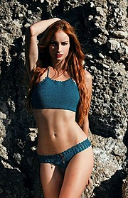 Athina Palidi model (μοντέλο). Photoshoot of model Athina Palidi demonstrating Body Modeling.Body Modeling Photo #175035