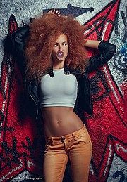 Athina Palidi model (μοντέλο). Photoshoot of model Athina Palidi demonstrating Face Modeling.Face Modeling Photo #154079
