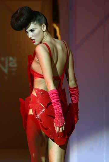 Audrey Balogh model. Photoshoot of model Audrey Balogh demonstrating Runway Modeling.Runway Modeling Photo #75767