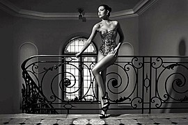 Audrey Bouette model (Audrey Bouetté modèle). Photoshoot of model Audrey Bouette demonstrating Fashion Modeling.Fashion Modeling Photo #214726