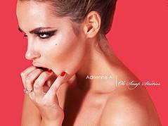 Audrey Bouette model (Audrey Bouetté modèle). Photoshoot of model Audrey Bouette demonstrating Face Modeling.Face Modeling Photo #54266