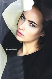Audrey Bouette model (Audrey Bouetté modèle). Audrey Bouette demonstrating Face Modeling, in a photoshoot by Hicham Alaoui.Photographer: Hicham AlaouiFace Modeling Photo #96961
