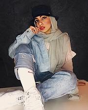 Aya Saleh model. Photoshoot of model Aya Saleh demonstrating Fashion Modeling.Fashion Modeling Photo #220632