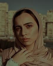 Aya Saleh model. Photoshoot of model Aya Saleh demonstrating Face Modeling.Face Modeling Photo #220640