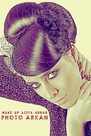 Azita Arbab makeup artist. makeup by makeup artist Azita Arbab. Photo #46803