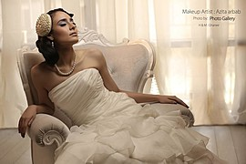 Azita Arbab makeup artist. makeup by makeup artist Azita Arbab. Photo #46818