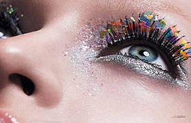 Baard Lunde fashion & beauty photographer. photography by photographer Baard Lunde.Face CloseupCreative Makeup Photo #59164